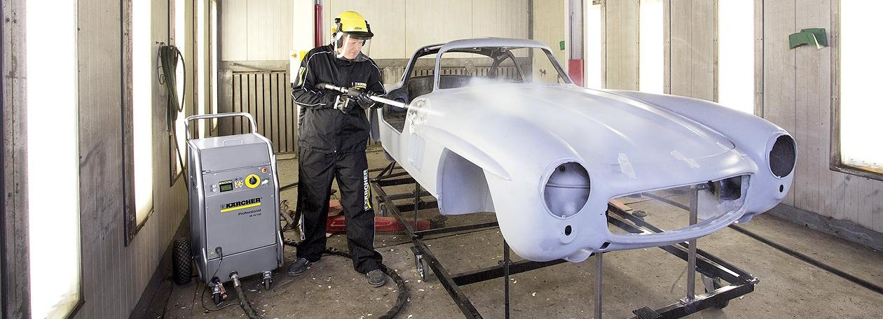 Пескоструйная обработка авто в Москве
