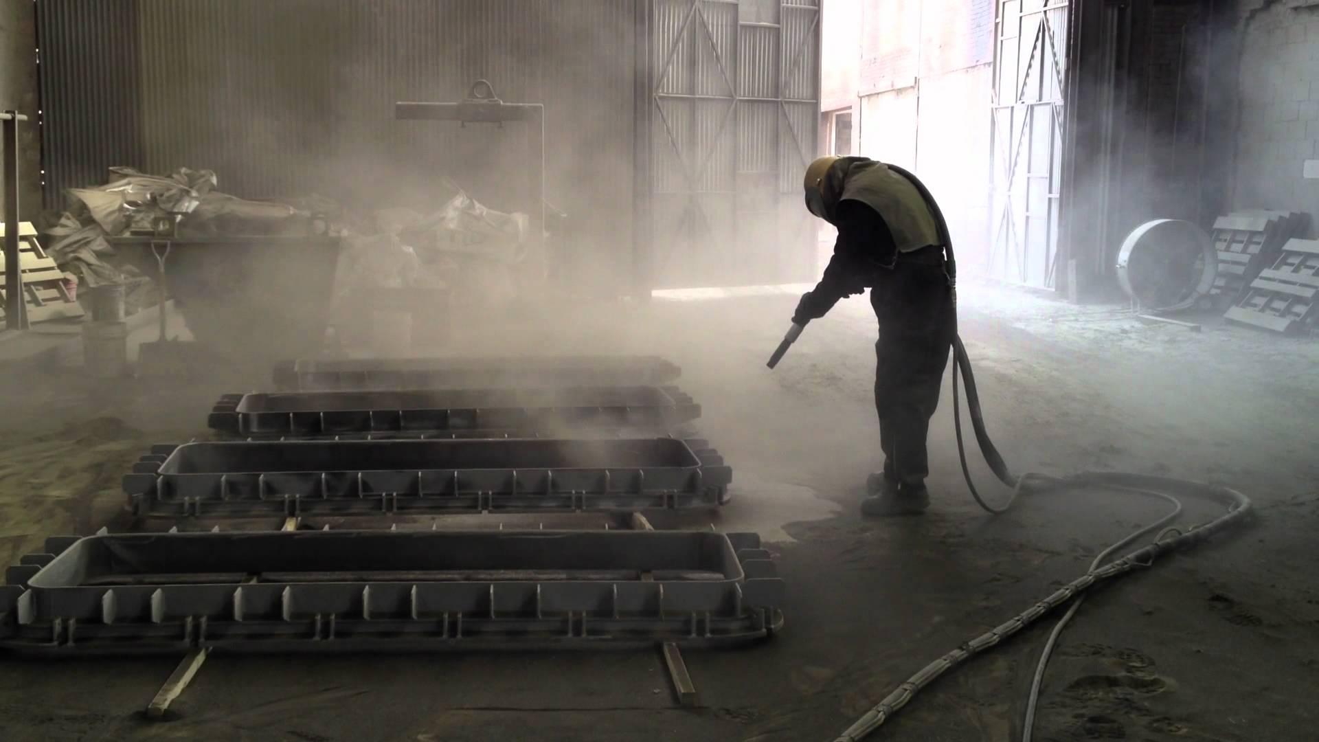 Пескоструйная обработка металла в Москве